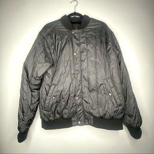 North face men's L reversible bomber jacket